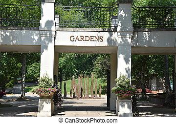 birmingham, alabama, jardins botaniques