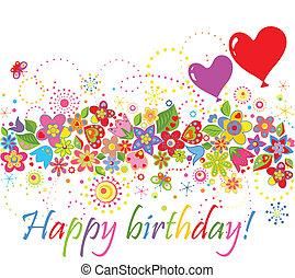 birthday!, heureux