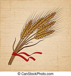 blé, retro
