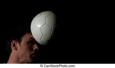 bla, balle, titre, footballeur