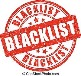 blacklist, tampon