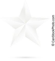 blanc, étoile