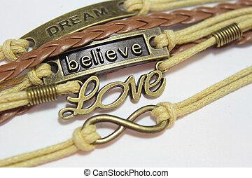 blanc, croire, rêve, amour, symboles