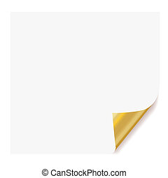 blanc, papier