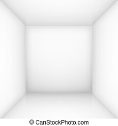 blanche salle, vide