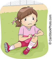 blessure, football