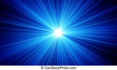 bleu allume
