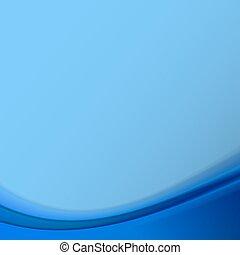 bleu, arrière-plan., résumé, vecteur, illustration