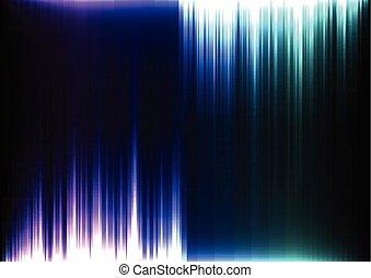 bleu, barre, ruisseau, pourpre, lumière, résumé, bas, dessus, fond, ligne