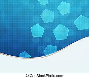 bleu, business, fond, texture