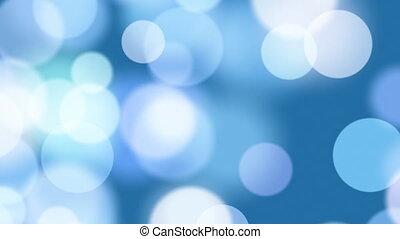 bleu, cercles, seamless, boucle, brouillé