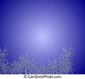 bleu, gelée