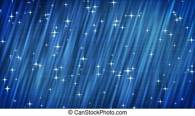 bleu, hdtv., étoiles, arrière-plan.