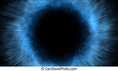bleu, loopable, vortex