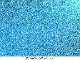 bleu, métallique