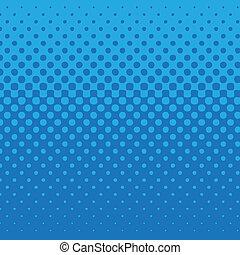 bleu, modèle, point
