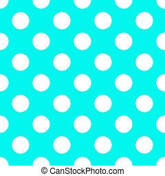 bleu, modèle, polka, seamless, papier, bébé, point