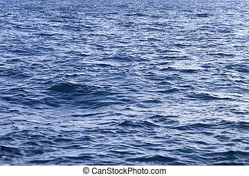 bleu, naturel, mer, texture, surface, fond