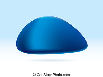 bleu, organique, marbre
