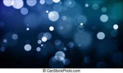 bleu, particules, hd030, defocused