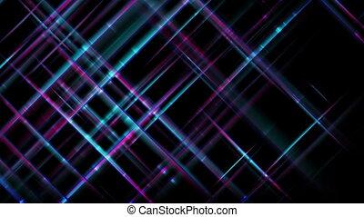 bleu, pourpre, résumé, raies, mouvement, technologie, fond, futuriste