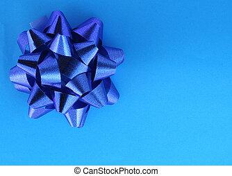 bleu, présent