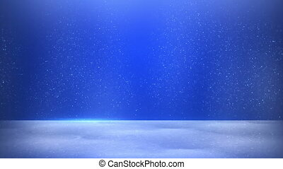 bleu, seamless, fond, poussière, scintillement, boucle