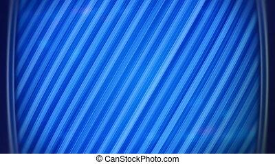 bleu, techno, raies, fond, boucle