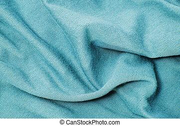 bleu, textile