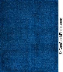 bleu, tissu, fond