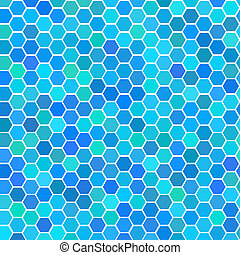 bleu, tuiles, aléatoire, seamless