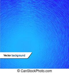 bleu, vecteur, conception, ton, fond