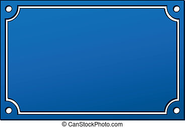 bleu, vecteur, signe