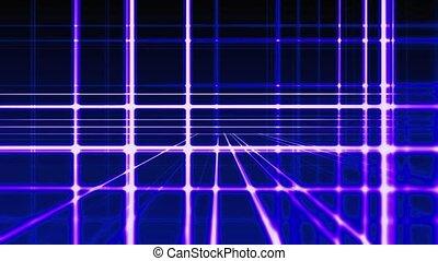 bleu, vertical, résumé, lignes, seamless, fond, boucle, numérique, prêt, horizontal, animation, hd
