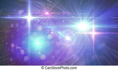 blinks, flash, lotissements, lumière