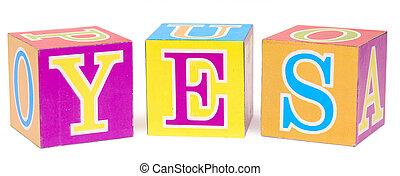bloc alphabet