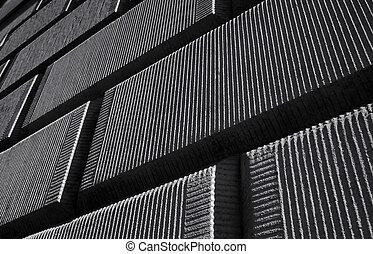blocs, textured