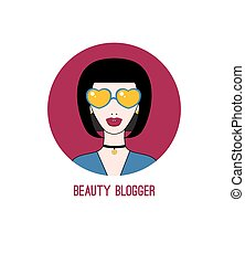 blogger, beauté, icône