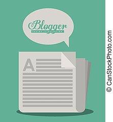 blogger, conception