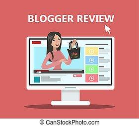 blogger, femme, review.
