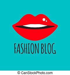 blogger, mode, logo