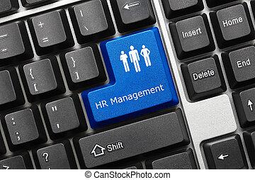 (blue, -, conceptuel, gestion, hr, key), clavier