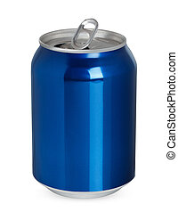 boîte, aluminium, isolé