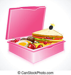 boîte, déjeuner