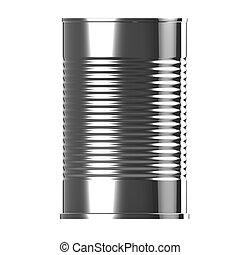 boîte en fer-blanc, 3d