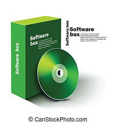 boîte, logiciel