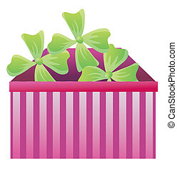 boîte, plante