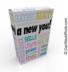 boîte, produit, vente, instant, -, amélioration, entraide, nouveau, vous
