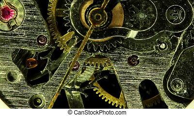 bobard, moderne, montre