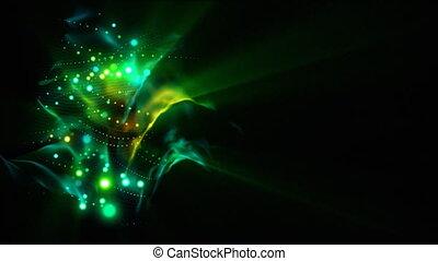 bobine, boucle, lumières